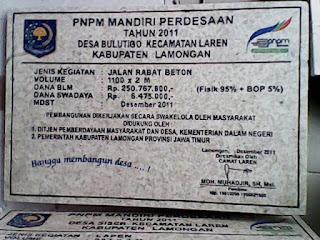 Proyek PNPM Lamongan