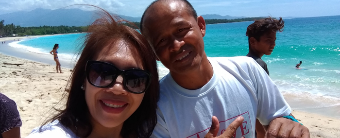 Dahican Beach, Mati, Davao Oriental With Jun Plaza