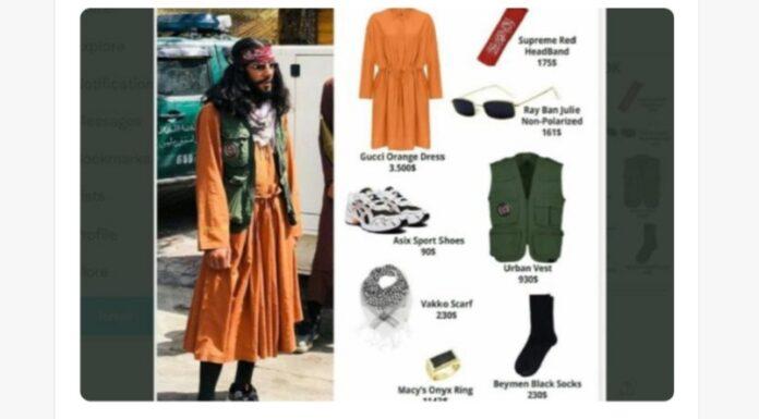 Fantastis! Daftar Harga Outfit Anggota Taliban Sentuh Angka Rp100 Juta, Netizen Syok