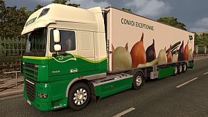 DIJCO trailer and DAF XF skin fixed