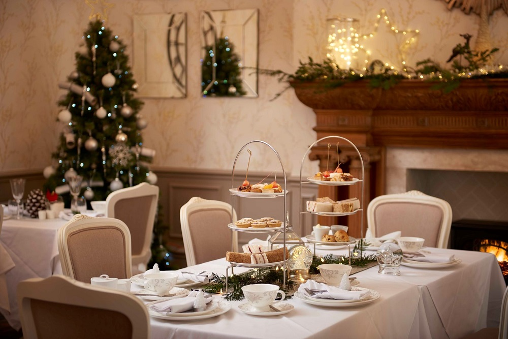 Festive Afternoon Tea at Laura Ashley The Tea Room