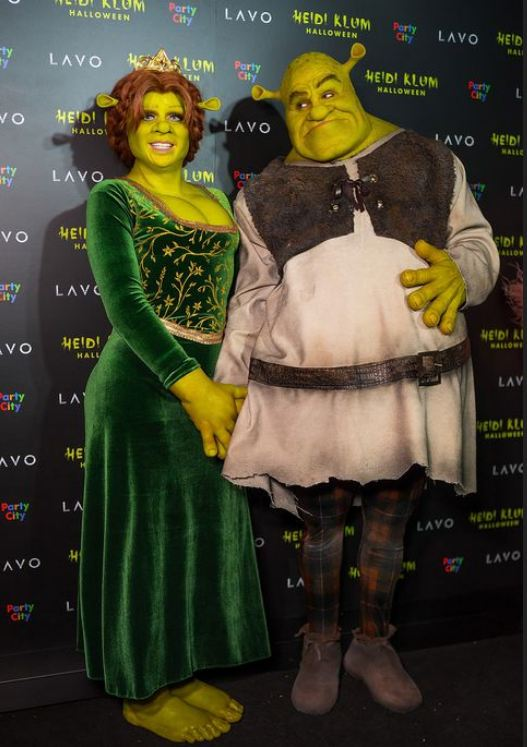 Heidi-Klum-boyfriend-Tom-Kaulitz-shrek-halloween-photo