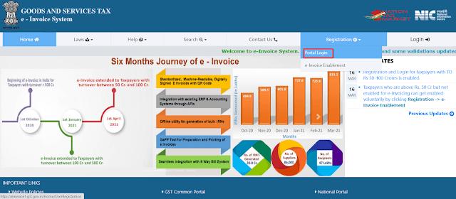 E-invoice-Portal-Registrations