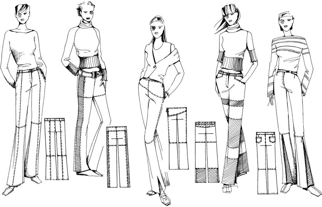 Картинки геометрических фигур для конструирования одежды