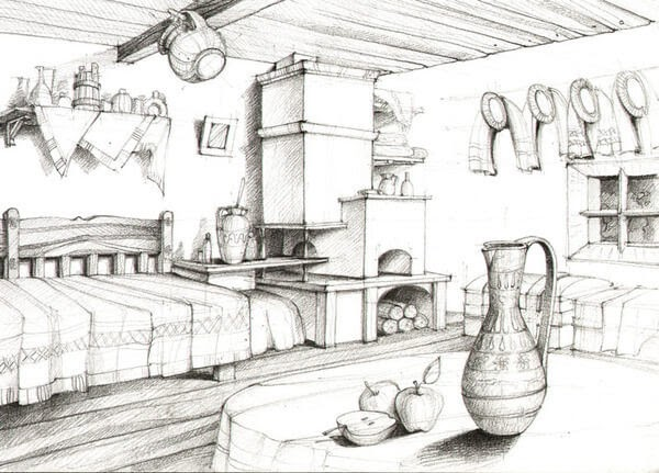 03-Living-Room-and-Fireplace-Adelina-Popescu-Architecture-Drawings-and-Interior-Design-www-designstack-co
