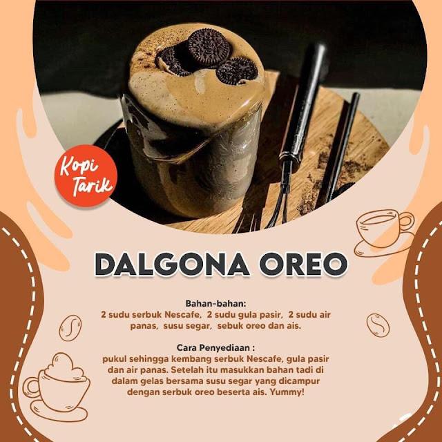 Dalgona Oreo