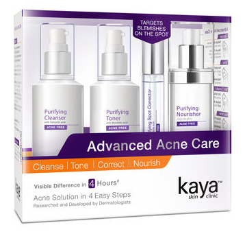 Kaya Skin Clinic Advanced Acne Care Kit