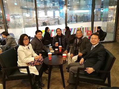 Mr Kim dan Mr Bae sanggup datang jauh dari Daegu bagi bertemu dengan saya. Kamsahamnida!