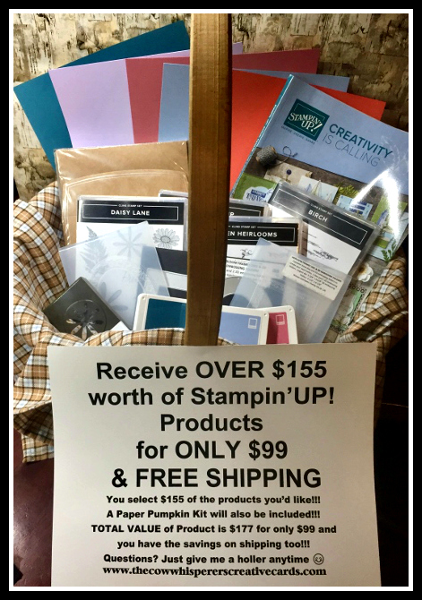 Join, Promotion, Stampin Up, Team, The Cow Whisperer's Herd