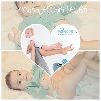masaje para bebes zona abdominal