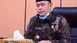 Antisipasi Dini, Bupati Himbau TNI Polri Perketat Pengawasan Lahawan Rawan Kebakaran