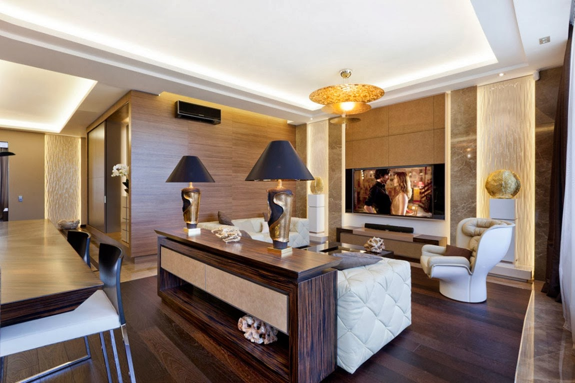 Shape of art deco is an elegant home designed by ng studio and located in st petersburg russia