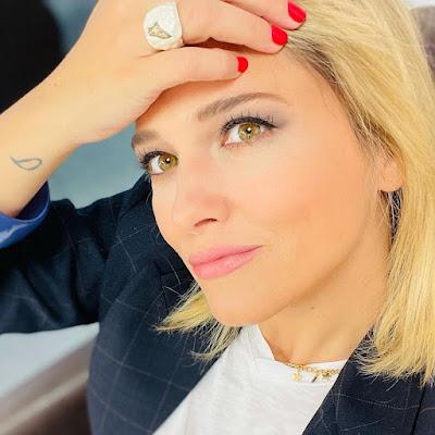 Francesca Barra difende Melissa Satta Sky Calcio Club