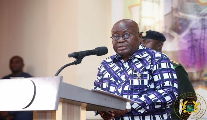 Akufo-Addo extends ban on public gathering by two weeks