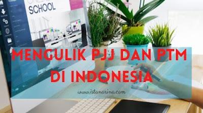 refleksi sekolah online di Indonesia