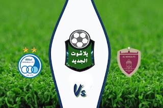 نتيجة مباراة الوحدة واستقلال طهران اليوم الاثنين 14 / سبتمبر / 2020 دوري ابطال آسيا