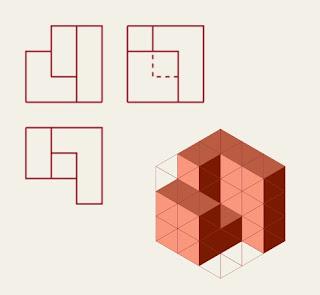 Perspectiva isométrica pieza 12