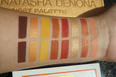 Colourpop Yes Please swatches compare to natasha