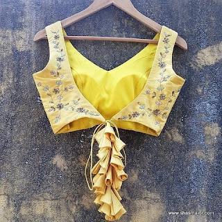 saree blouse design images