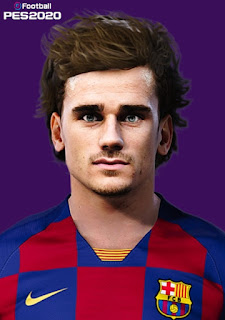 PES 2020 Faces Antoine Griezmann by Milwalt