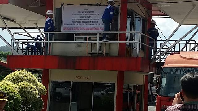 PT Pertamina (Persero) Terminal BBM Bitung ,di ancam akan dieksekusi oleh ahli waris Pemilik Lahan