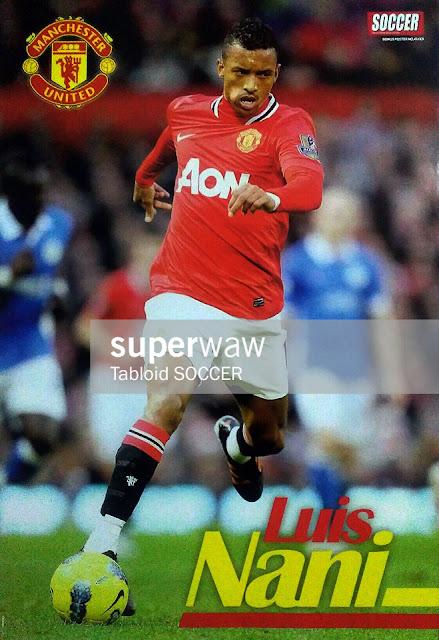 Luis Nani Manchester United 2011
