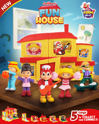 Jolly Kids can build their own home with the Jollibee Fun House