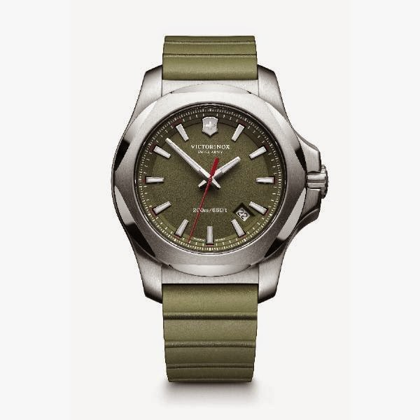 VICTORINOX SWISS ARMY MEN'S INOX GREEN 241683.1