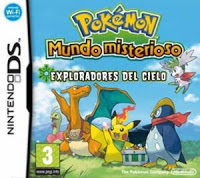 Pokemon Mystery Dungeon Explorers Of the Sky NDS en Español Mega