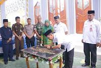 "Pembangunan Tuntas, Walikota Bima Resmikan Masjid ""HM Nur A. Latif"""