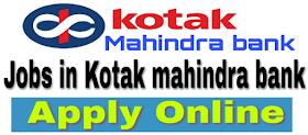 Kotak Mahindra Bank Jobs 2021 KotakMahindraBank.com 3,500+ Kotak Mahindra Bank Careers