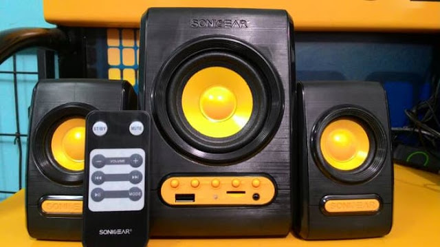 5 Speaker Sonic Gear Teranyar di 2019