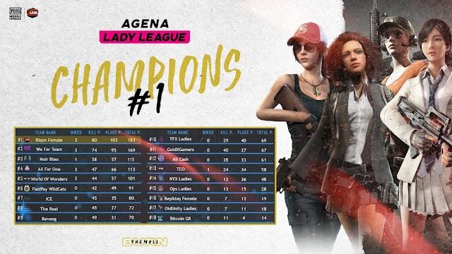 Blaze Esports Kadın PUBG Takımı Şampiyonluğa Ulaştı