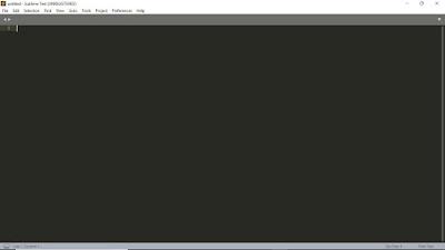Tutorial Dasar Sublime Text 3 | Belajar Pemrograman HTML Dasar