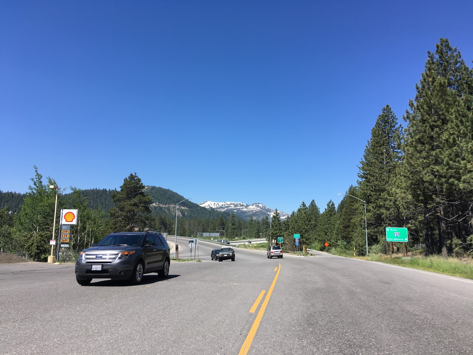 donner pass road crosses over i 80 one final time