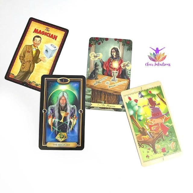 Tarot Cards - The Magician - Comparing Tarot