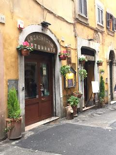 Rome Ristorante exterior