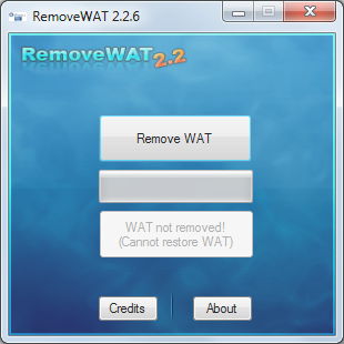 Make Windows7 Genuine By Using RemoveWat