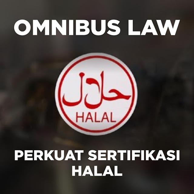 Omnibus Law Perkuat Sertifikasi Halal