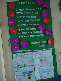 Atividade de escrita educação infantil