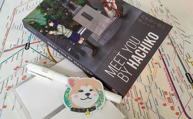 Meet Yo By Hachiko paperback with sticker