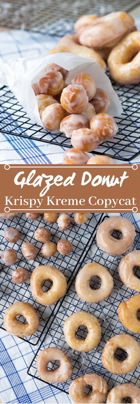 Original Glazed Donuts (Krispy Kreme Recipe Copycat) #desserts #baking