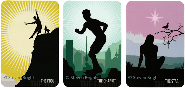 Spirit Within Tarot review The Fool The Chariot The Star Steven Bright blog blogger