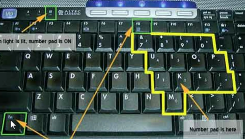 Laptop Keyboard Typing Numbers Instead Of Letters