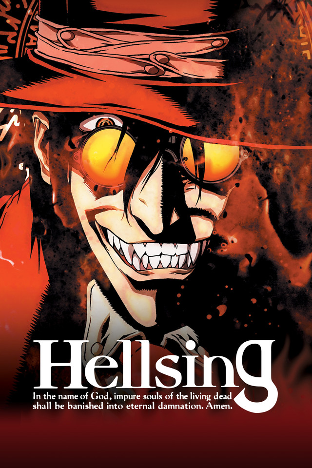 Action, Military, Horror, Supernatural, Vampire, Seinen , Anime , HD , 720p , 2006 , Hellsing Ultimate