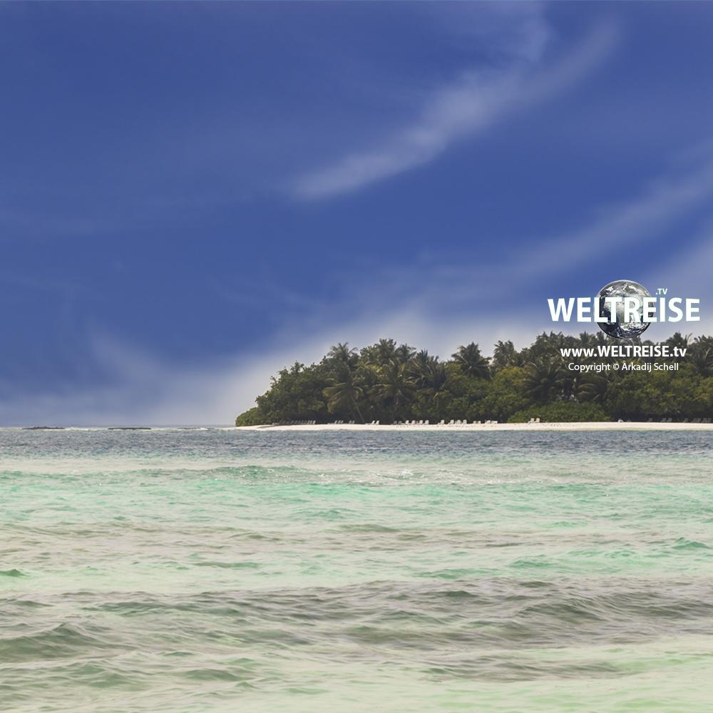 Weltreise auf den Malediven. Günstig fliegen und übernachten. Kein Problem. www.WELTREISE.tv Arkadij Schell
