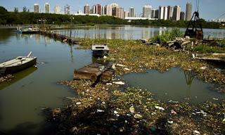 despoluicao das aguas de rios