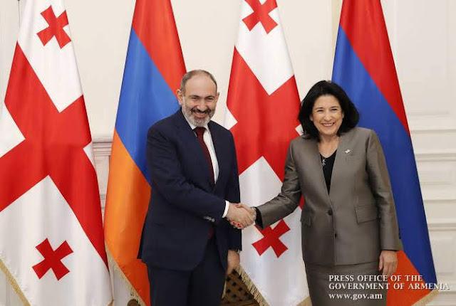 Pashinyan: Nuestros lazos con Georgia son estratégicos