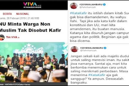 Penyebutan Kafir Mau 'Diamandemen', Fahri Hamzah: Itu Sakit Jiwa Namanya!