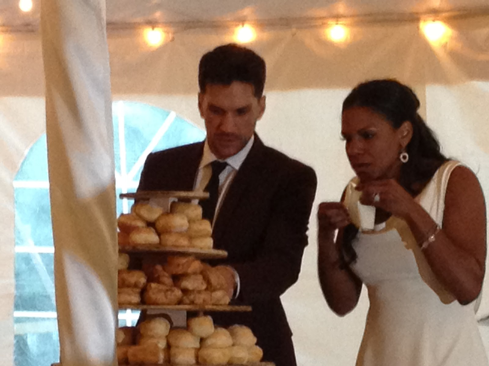 Red Carpet Wedding: Audra McDonald and Will Swenson - Red ...Will Swenson Audra Mcdonald Wedding